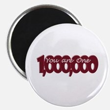 One in a Million Red Magnets