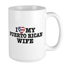 I Love My Puerto Rican Wife Mug