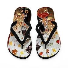 Autumn Flip Flops