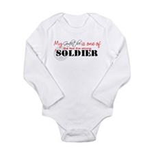 Cute Army brother in law Long Sleeve Infant Bodysuit