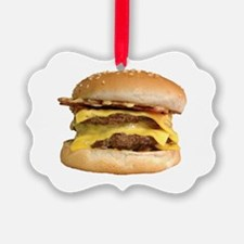 Stacked Burger Ornament