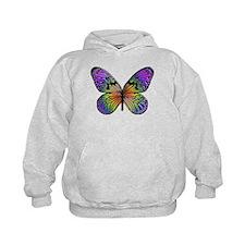 Rainbow Butterfly Hoody