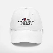 I Love My Puerto Rican Husband Baseball Baseball Cap