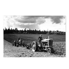 Plowing in 1950 Postcards (Package of 8)