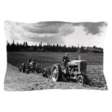 Plowing in 1950 Pillow Case