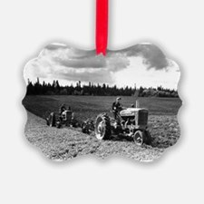 Plowing in 1950 Ornament