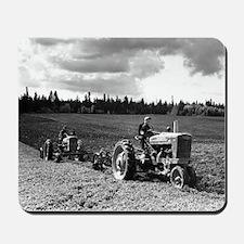 Plowing in 1950 Mousepad