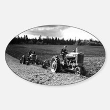 Plowing in 1950 Decal