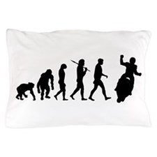 Motorcycle Evolution Pillow Case
