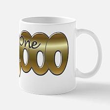 I am one in a million gold Mug
