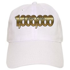 I am one in a million gold Baseball Cap