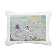 Komondors Rectangular Canvas Pillow