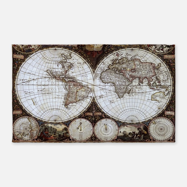 World Map Baby Rug: World Map Duvet Covers, Pillow Cases