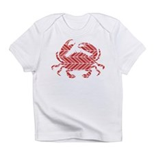 Chevron Crab Infant T-Shirt