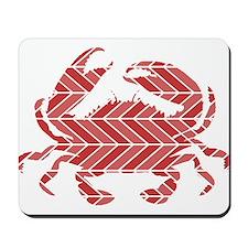 Chevron Crab Mousepad