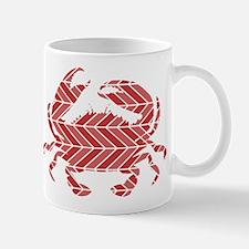 Chevron Crab Mugs