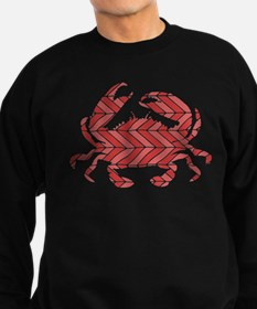 Chevron Crab Sweatshirt