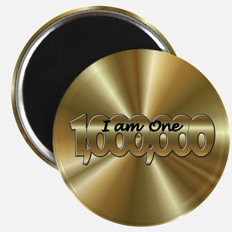 One in a Million Gold Magnets