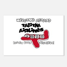 Tabitha Airlines Postcards (Package of 8)