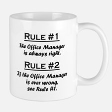 Rule Office Manager Mugs