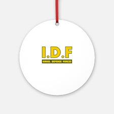IDF Israel Defense Forces3 colorize - Big Ornament