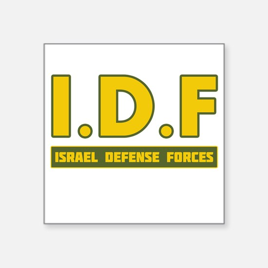 IDF Israel Defense Forces3 colorize - Big Sticker