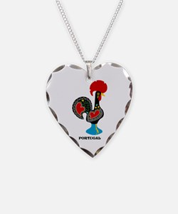 Portuguese Rooster of Luck Necklace