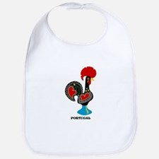 Portuguese Rooster of Luck Bib