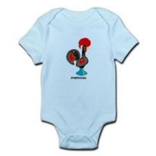 Portuguese Rooster of Luck Body Suit