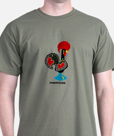 Portuguese Rooster of Luck T-Shirt