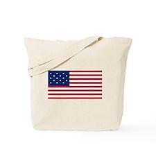 15 Star US Flag Tote Bag