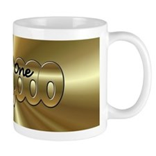 One in a Million Gold Mugs