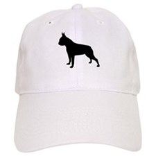 boston terrier black 2 Baseball Baseball Cap