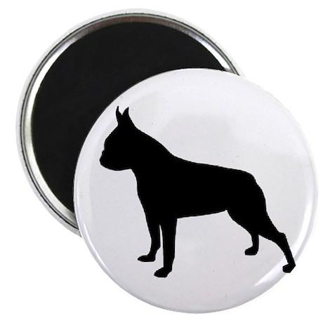 boston terrier black 2 Magnets