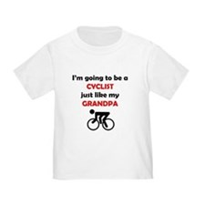 Cyclist Like My Grandpa T-Shirt