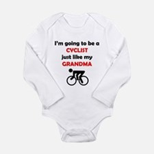Cyclist Like My Grandma Body Suit