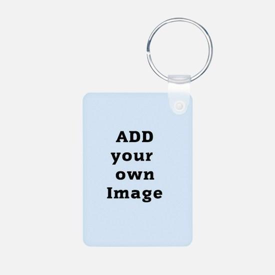 Add Image Aluminum Photo Keychain