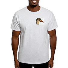 Duck Mallard Hen Ash Grey T-Shirt