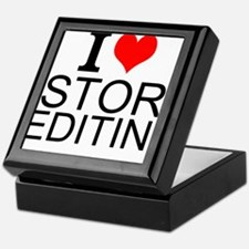 I Love Story Editing Keepsake Box