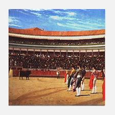 Plaza De Toros Tile Coaster