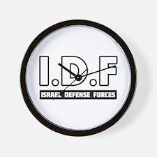IDF Israel Defense Forces 3 - Small Wall Clock