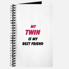 My TWIN Is My Best Friend Journal