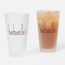 barbarellas Drinking Glass