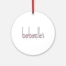 barbarellas Ornament (Round)