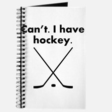 Cant I Have Hockey Journal
