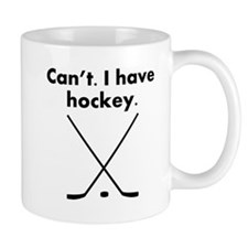 Cant I Have Hockey Mugs