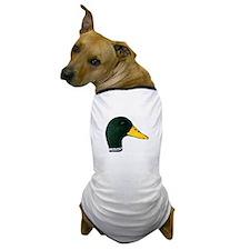Drake Mallard Duck Dog T-Shirt