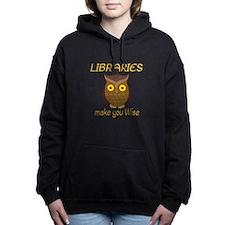 Library Wise Women's Hooded Sweatshirt