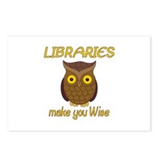 Library Wise Postcards (Package of 8)
