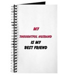 My THOUGHTFUL HUSBAND Is My Best Friend Journal
